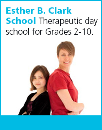 Esther B. Clark School. Theraputic day school for Grades 2-10.