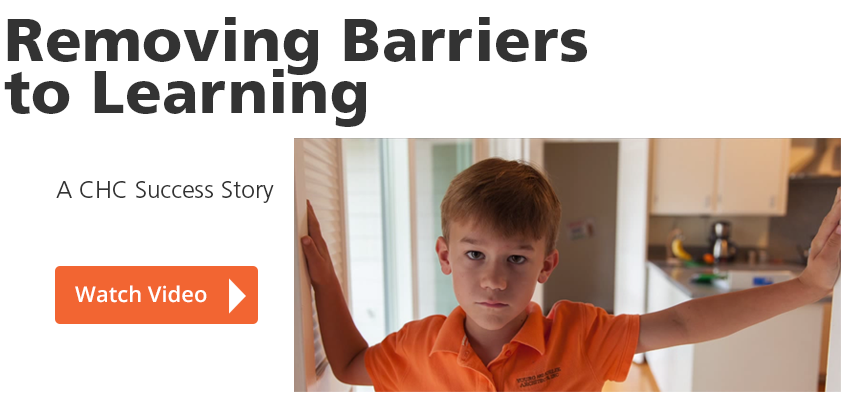 Removing Barriers to Learning. A CHC Success Story
