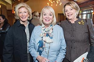 Anne Down, CHC Executive Director Rosalie Whitlock, Barbara Silverman