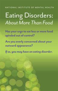 eating-disorders brochure