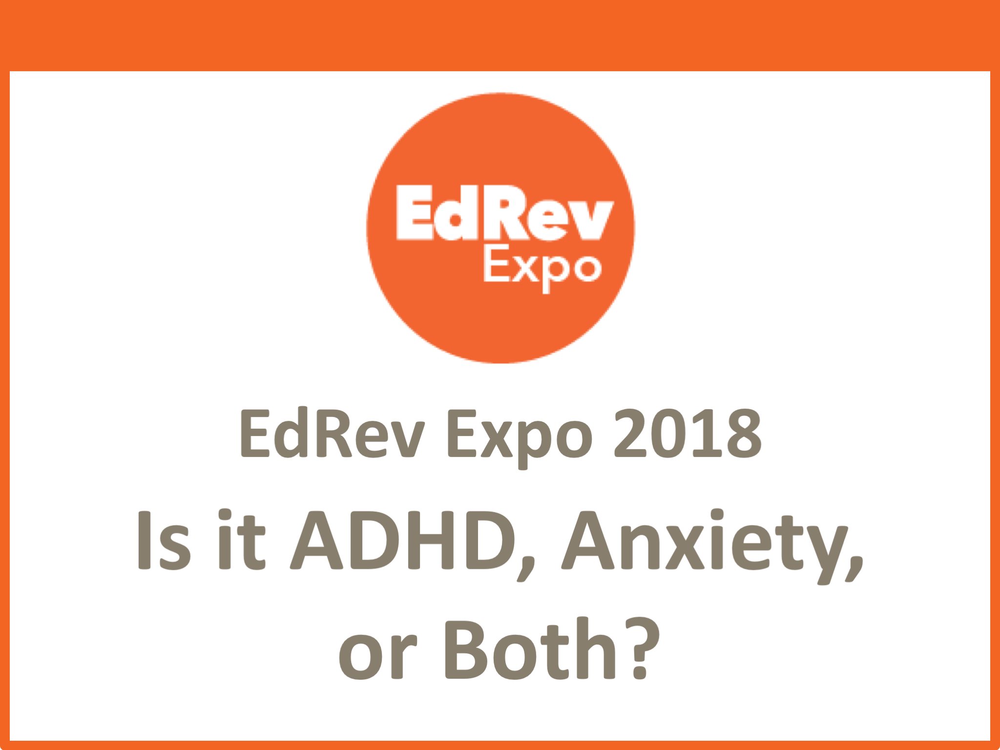 Is it ADHD Anxiety or Both