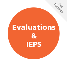 Evaluations and IEPS for Parents