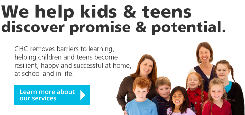 We help kids & teens discover promise & potential. Learn more about our services.
