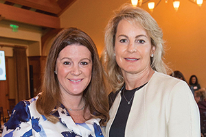Event Co-Chairs Calla Griffith and Catherine Harvey at the Children's Health Council Breakfast