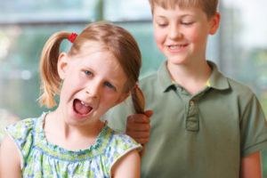 misbehaving siblings