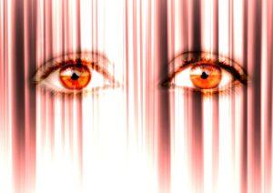 anxiety eyes