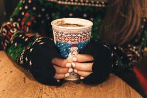 hands holding coffee-247835