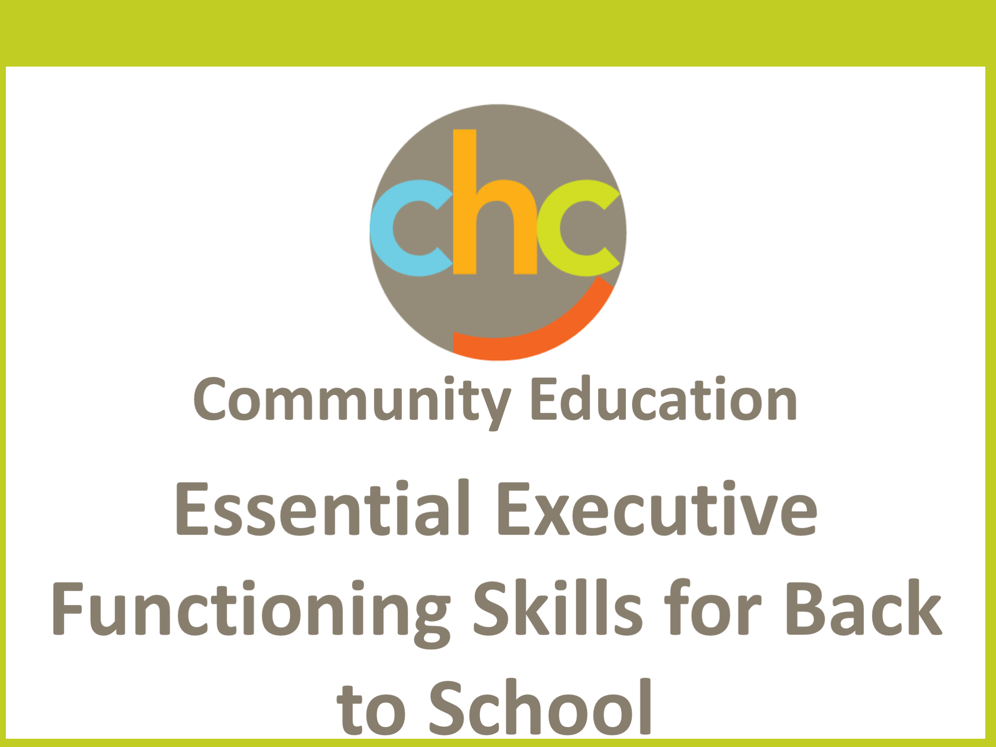 Executive Function Essential Part Of >> Essential Executive Functioning Skills For Back To School