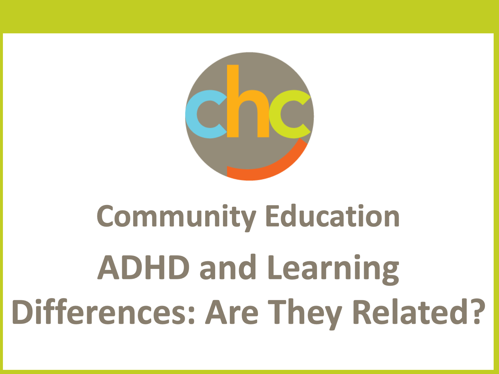 Resources categorized as ADHD & Inattention - Page 5 of 11 - CHC