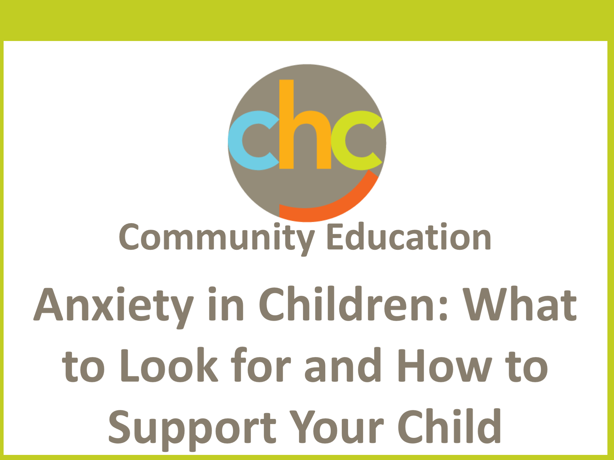 Anxiety in Children- What to Look for and How to Support Your Child243