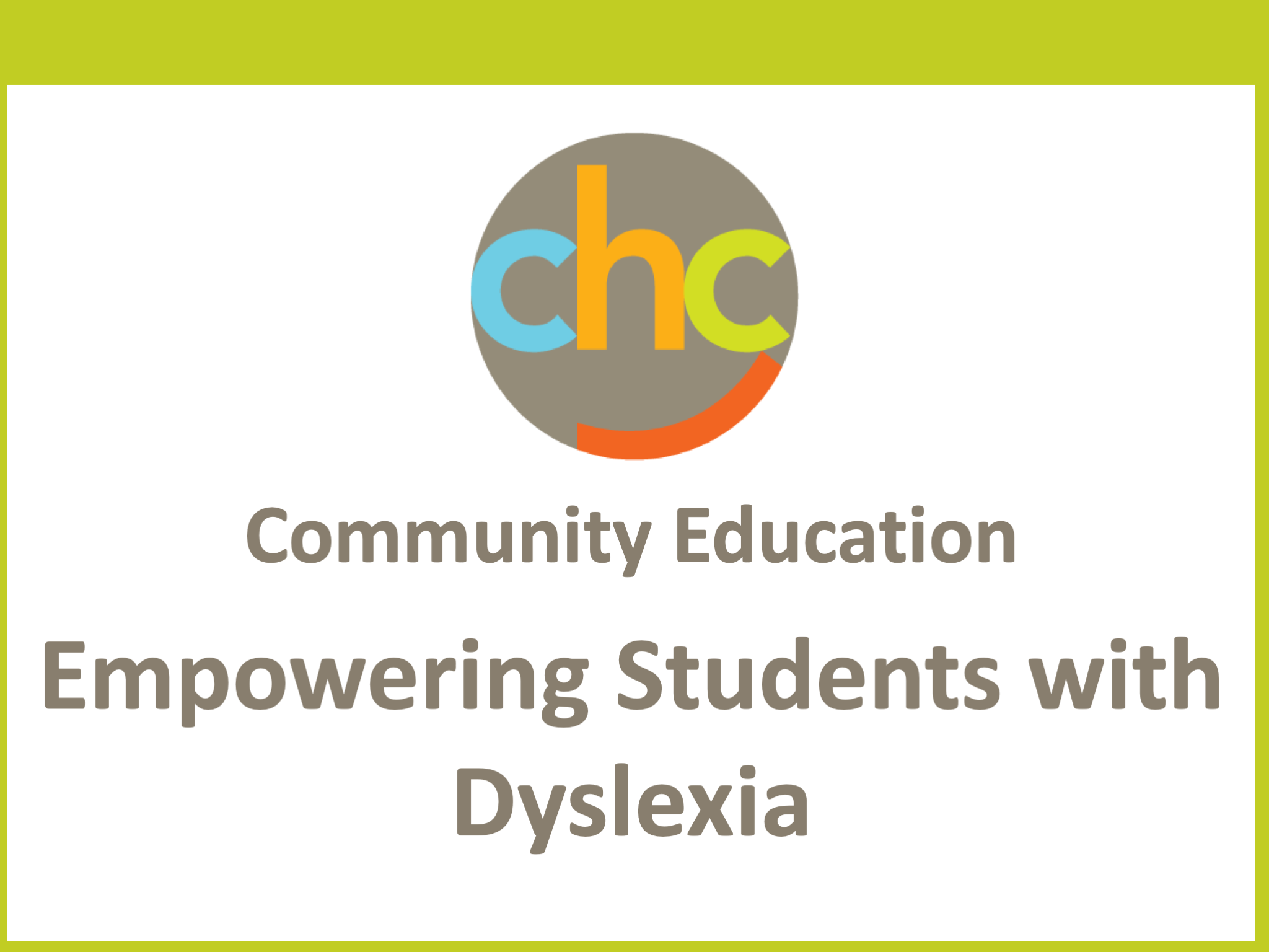 Empowering Students with Dyslexia252