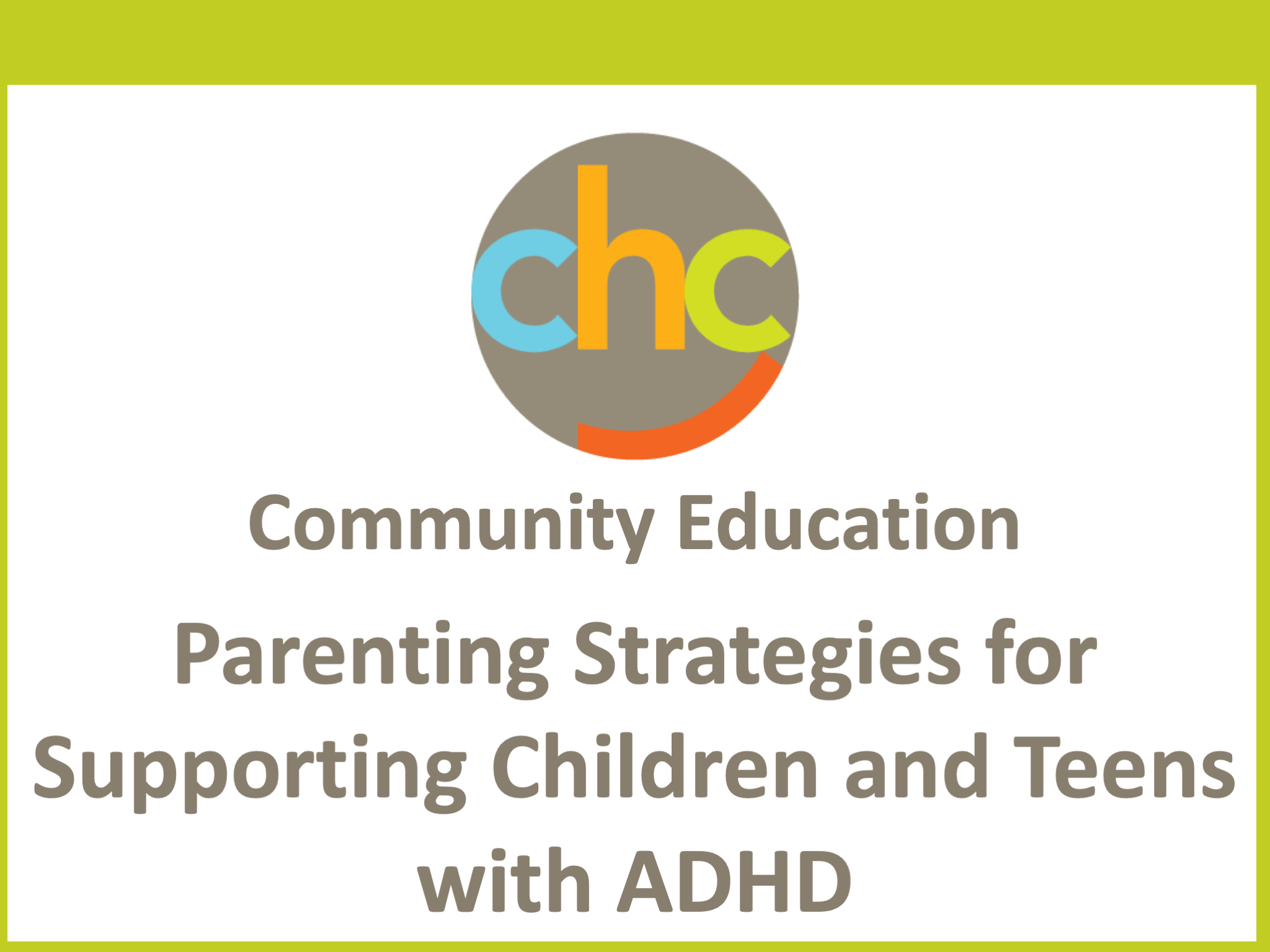 Parenting Strategies for Supporting Children and Teens with ADHD254