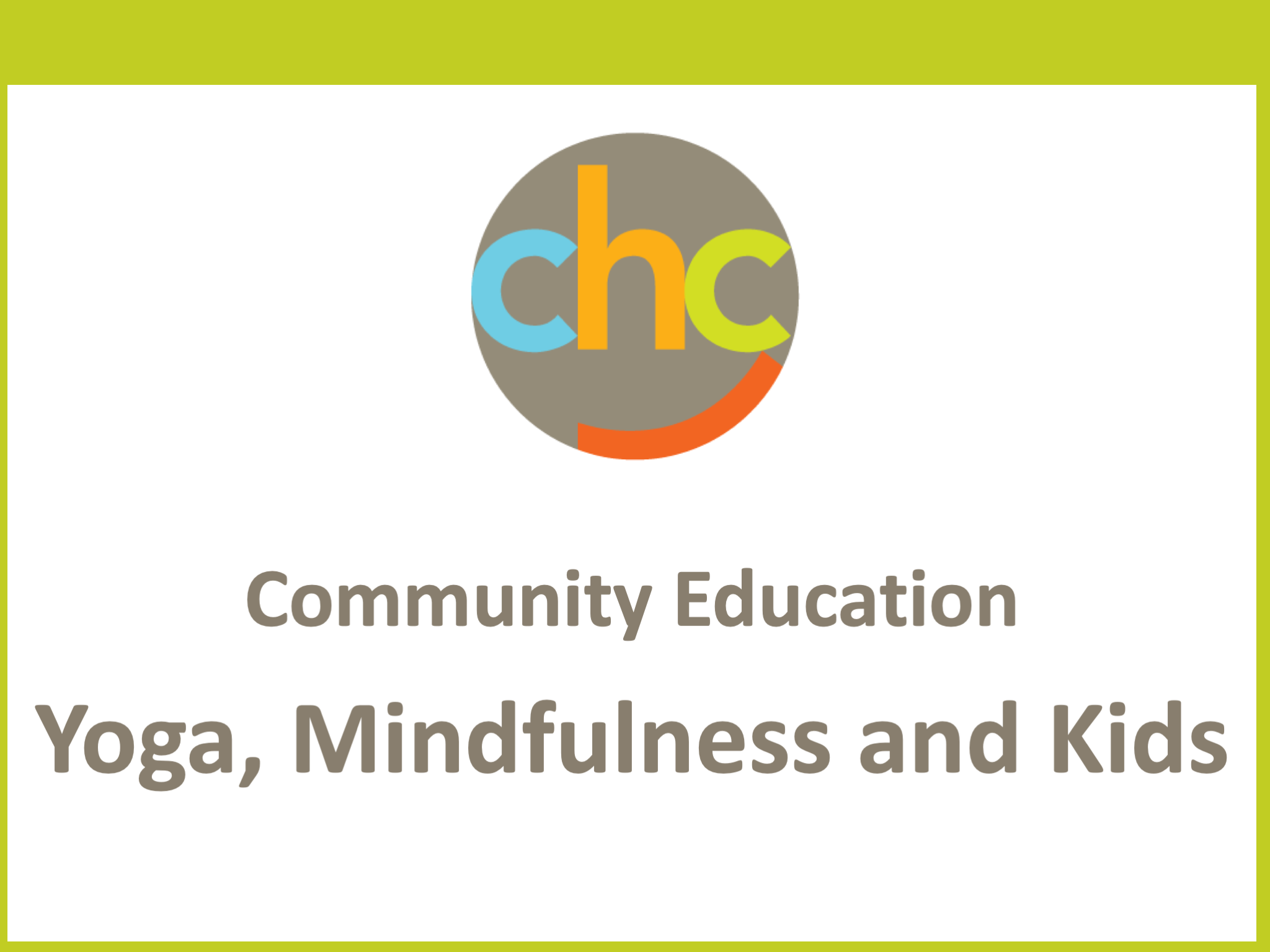 Yoga, Mindfulness and Kids316