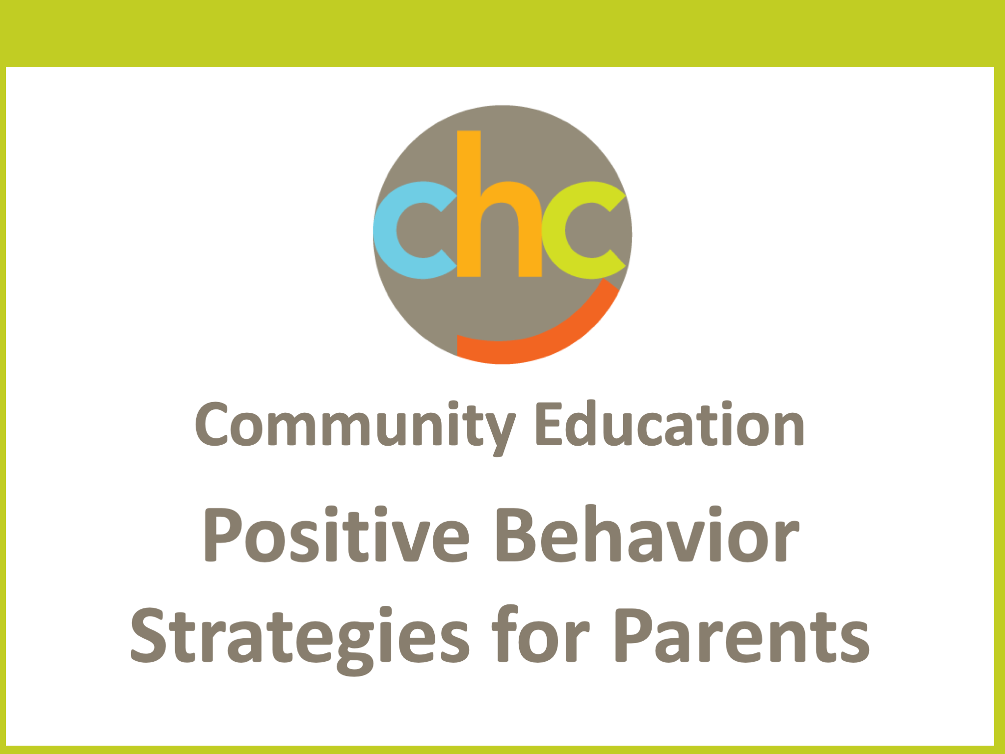 Positive Behavior Strategies for Parents 413