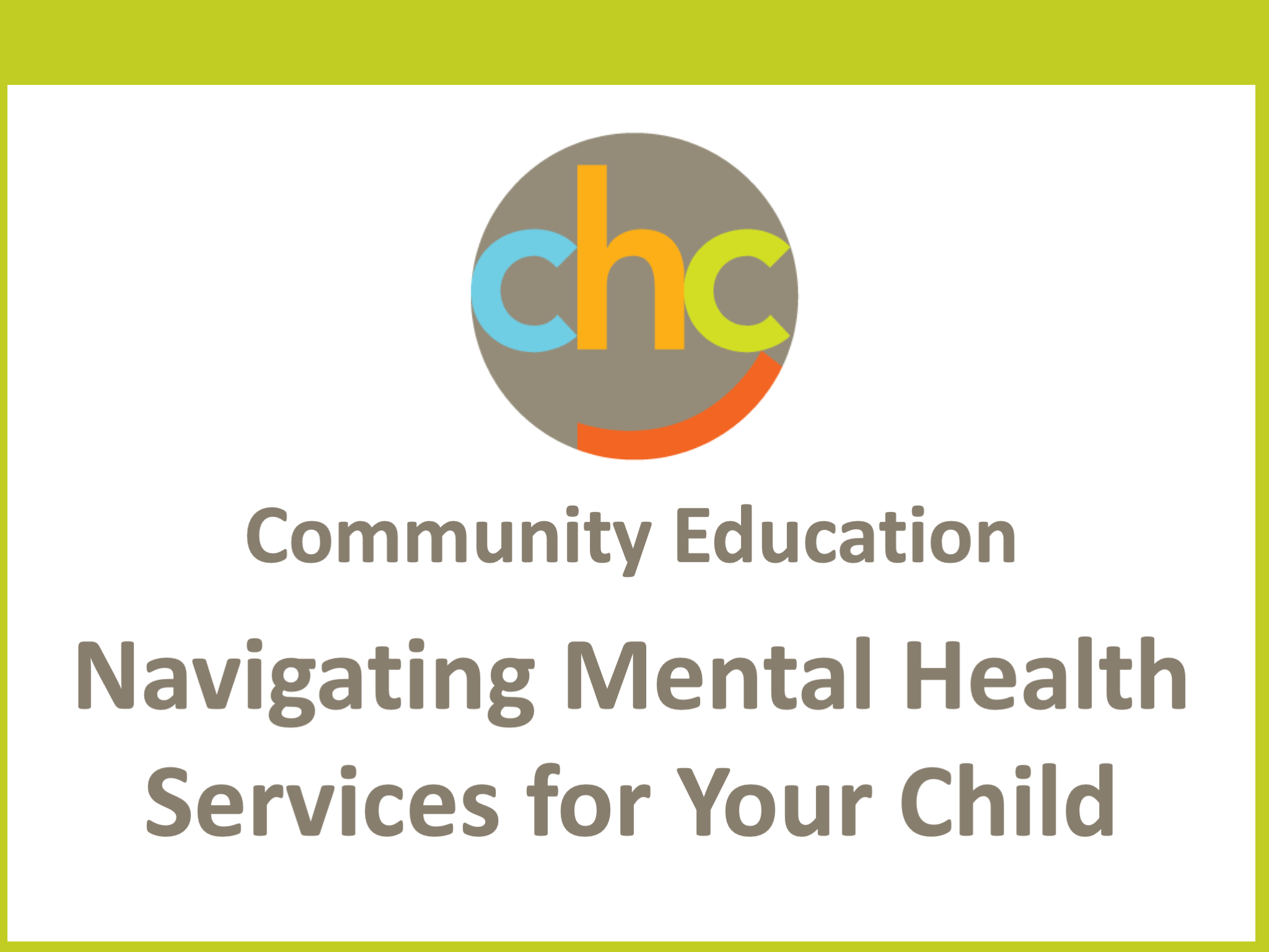 Navigating Mental Health Services for Your Child428