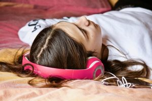 sleeping teen 491