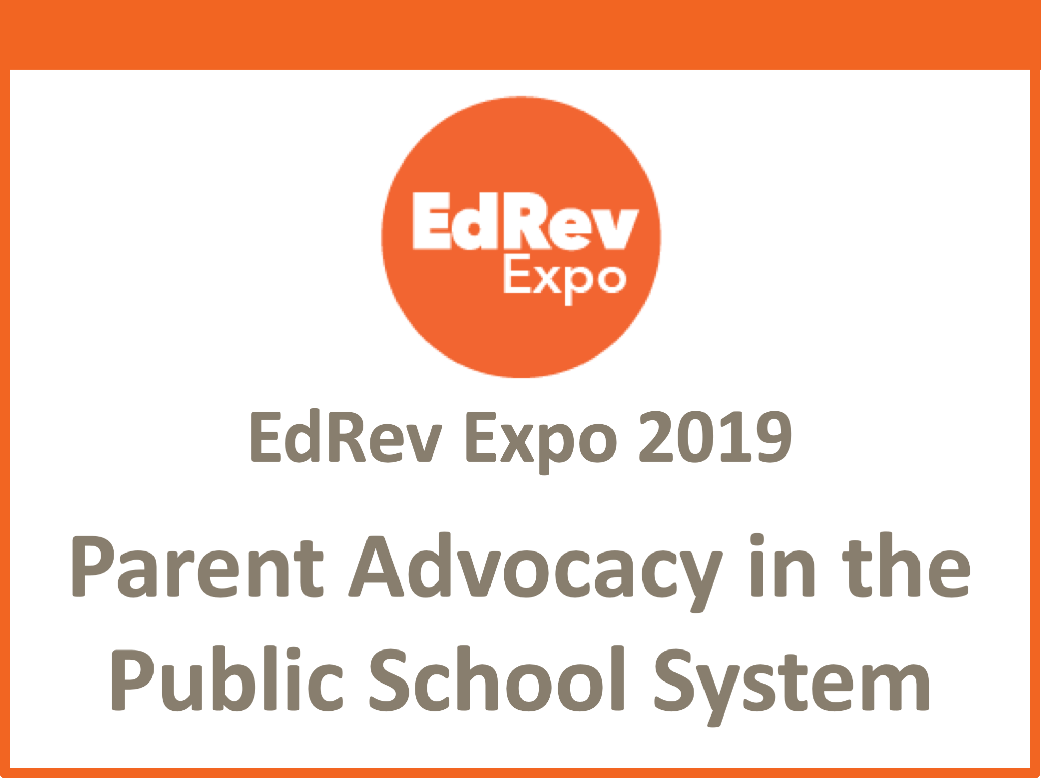 Martin_Parent Advocacy in the Public School System
