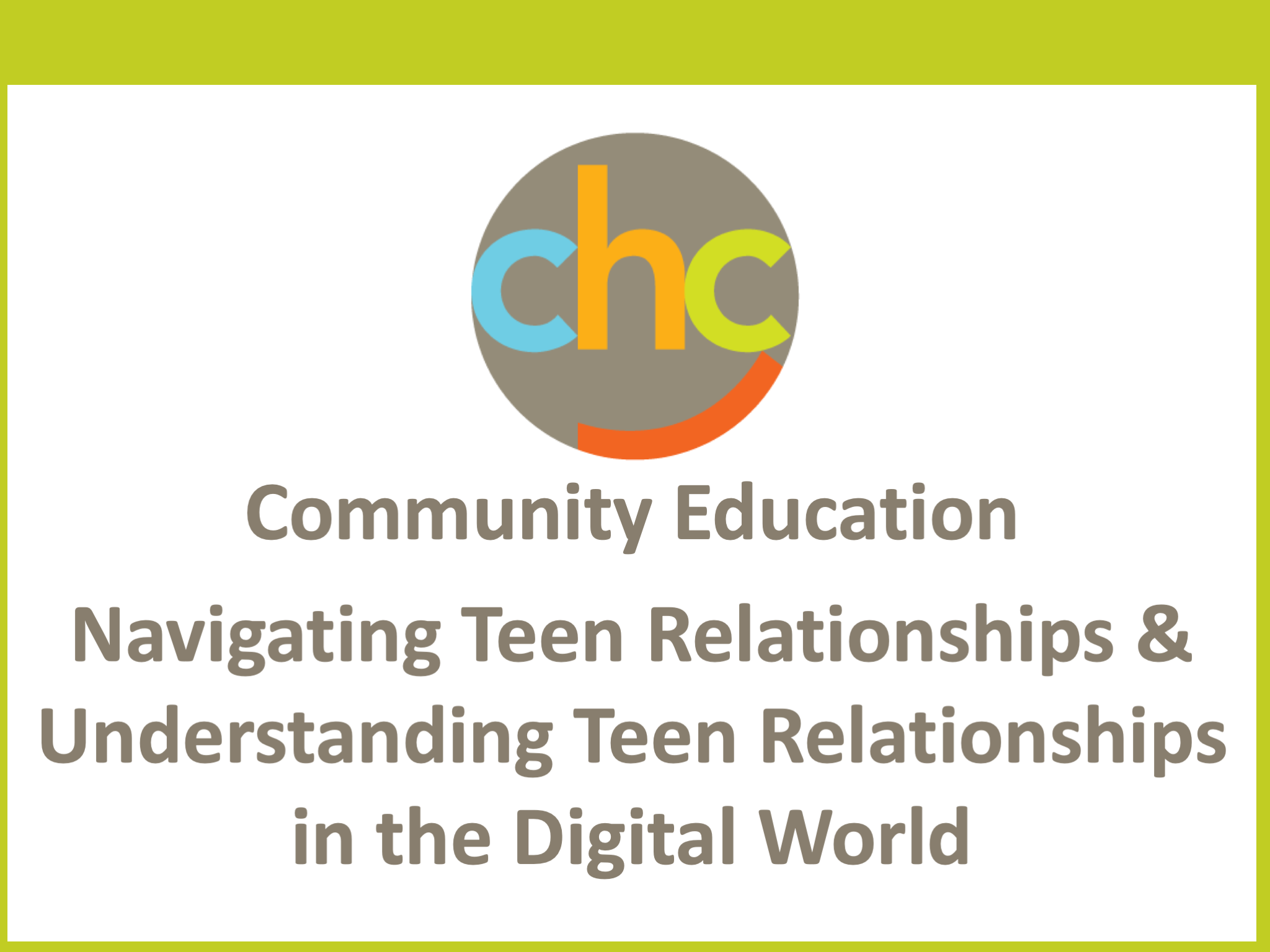 Navigating Teen Relationships & Understanding Teen Relationships in the Digital World 517