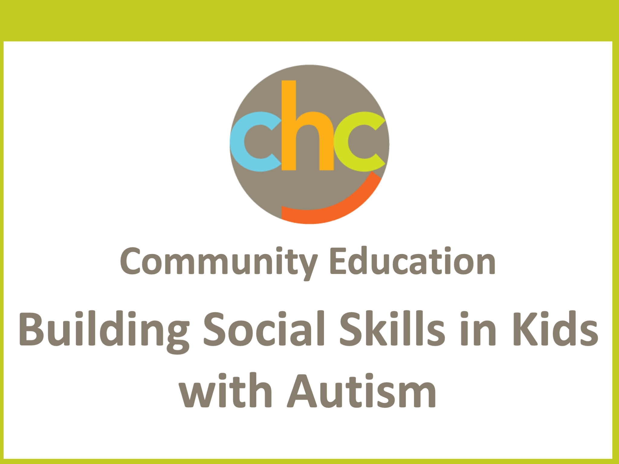 Building Social Skills in Kids with Autism 534