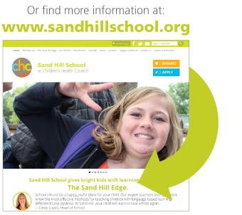 Explore Sand Hill School at sandhillschool.org