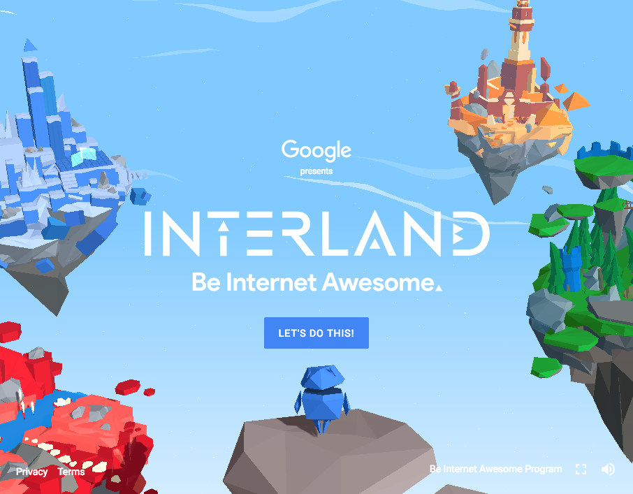 Google Creates Online Safety Computer Game For Kids Childrens - Computer game design for kids