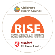 RISE: A Comprehensive DBT Intensive Outpatient Program for Teens. A partnership between Children's Health Council and Stanford Children's Health