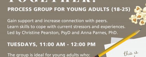 Teen Young Adult Process Group