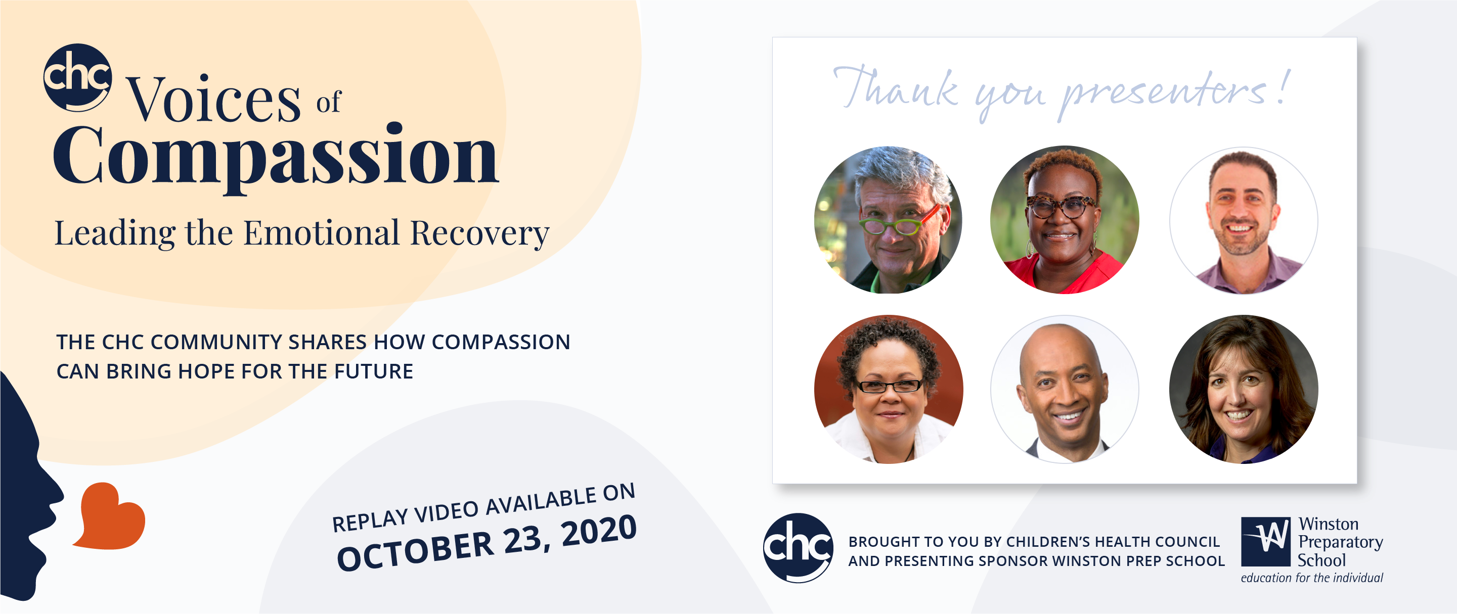 Voices of compassion, leading the emotional recovery